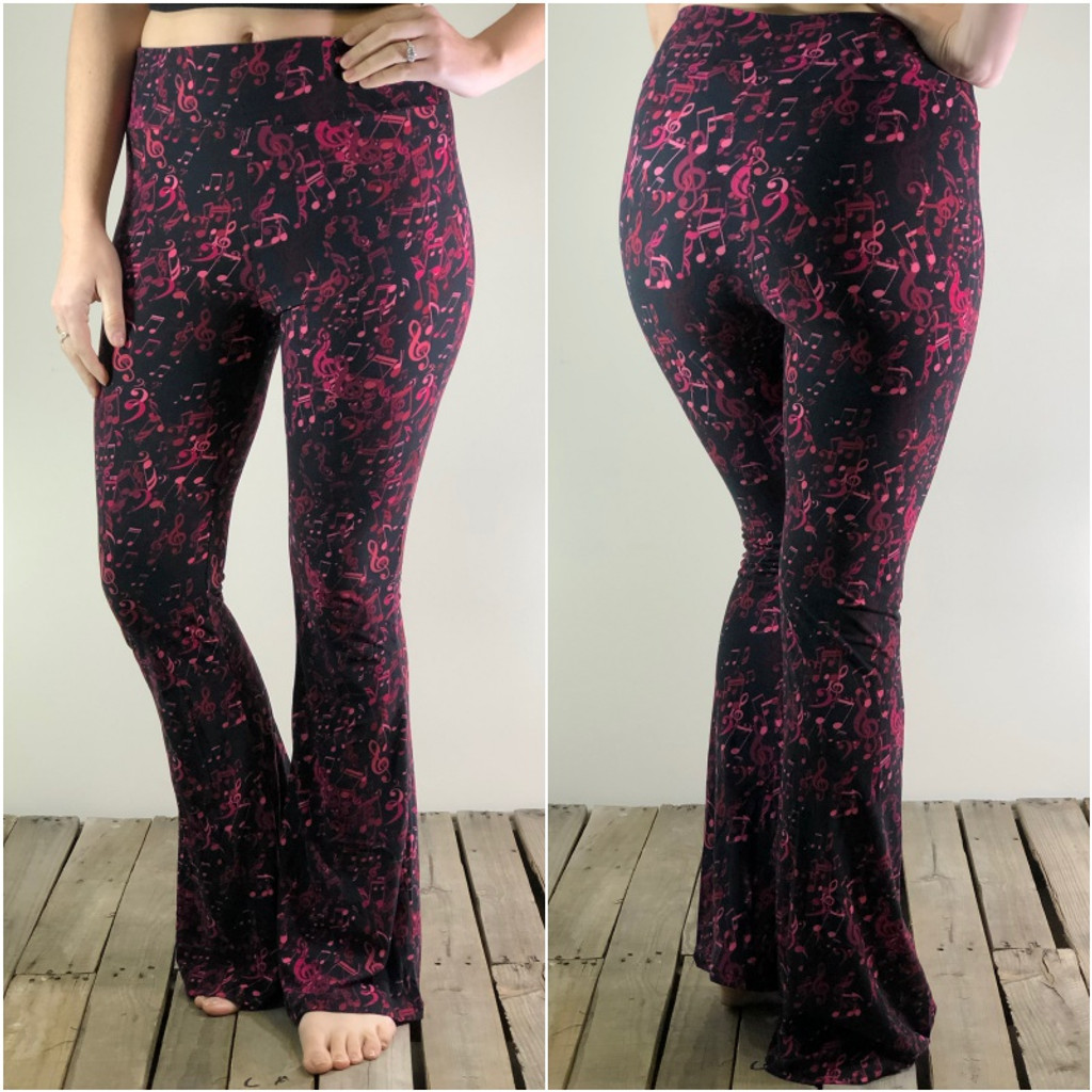Palazzo Pants- Seductive Notes