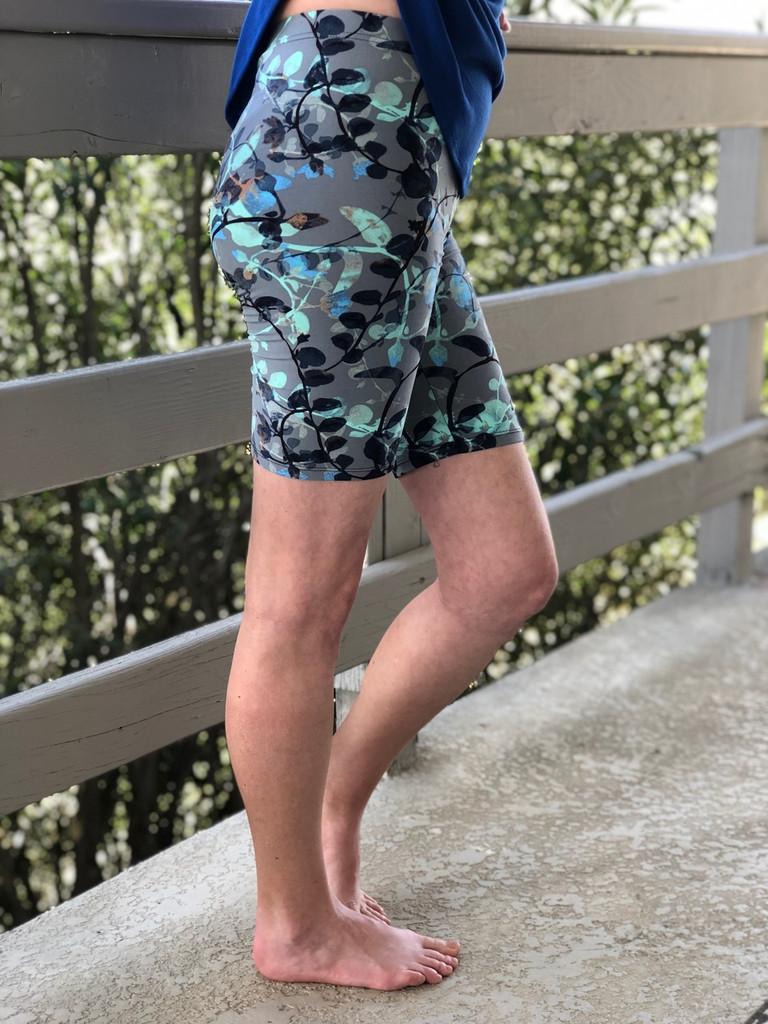 Plus Size Bike Shorts- Devine