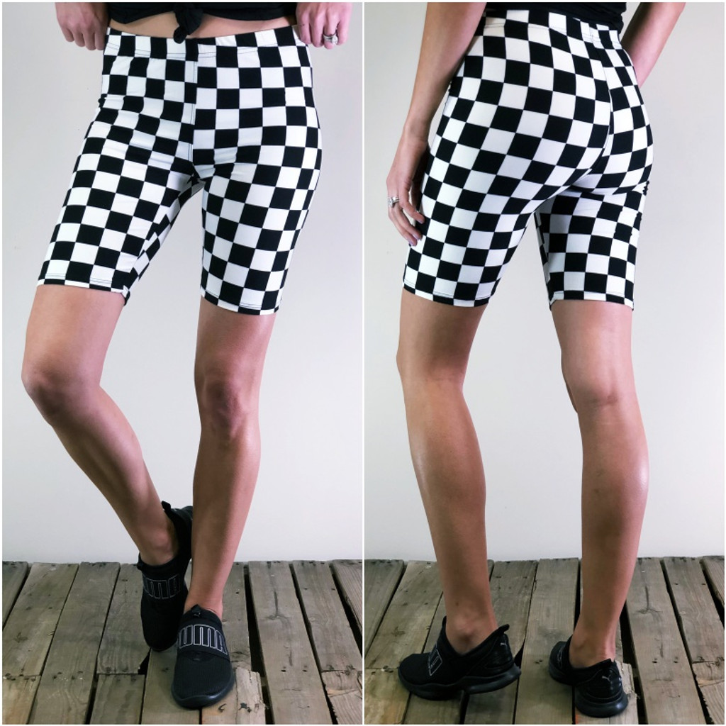 7dc0a6a526a92 Bike Shorts- Start Your Engines - Legging Army
