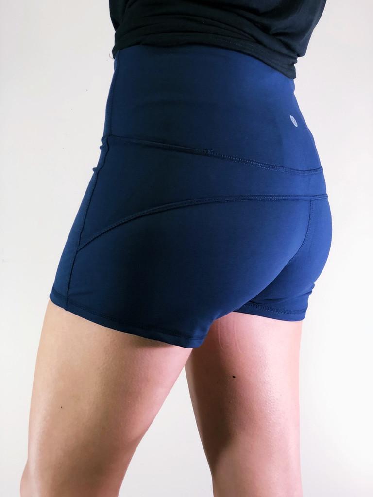 Athletic Shorts- Navy