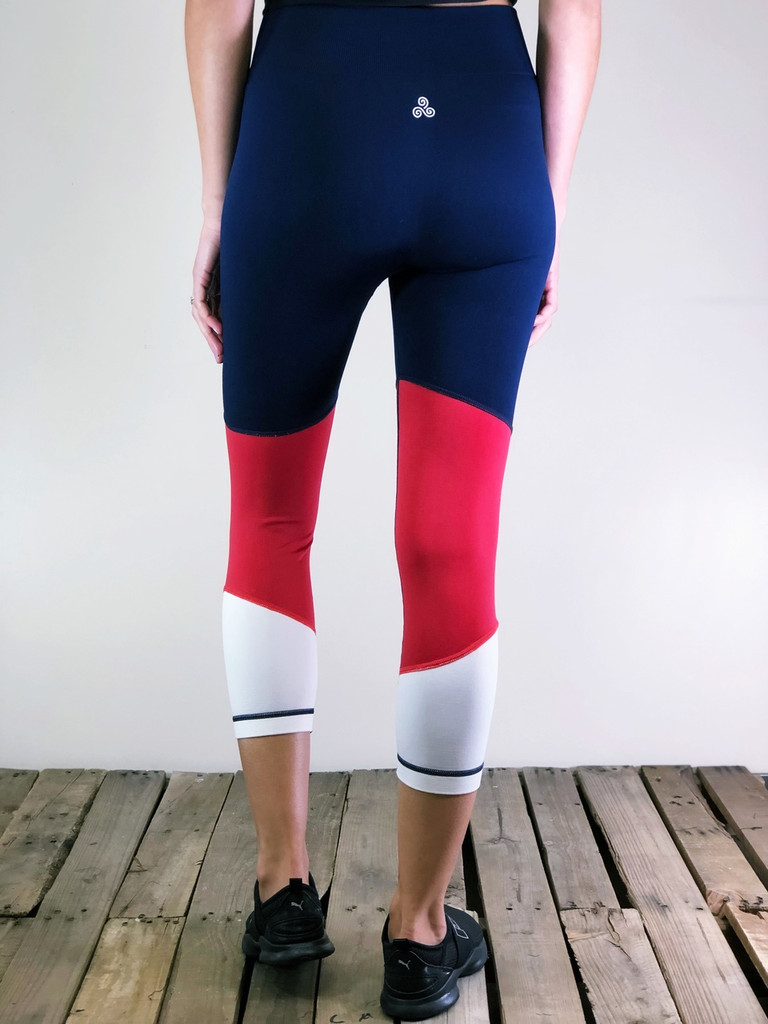 Activewear- Red, White And Blue