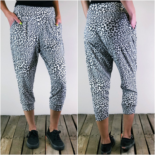 Harem Joggers- Stealthy Leo