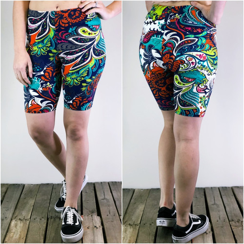 Bike Shorts- Color Me Pretty