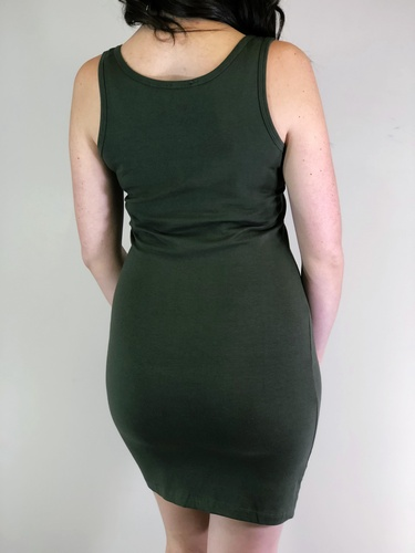 Body-Con Dress- Olive