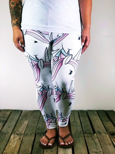 Plus Size Sublimation- Let's Be Unicorns