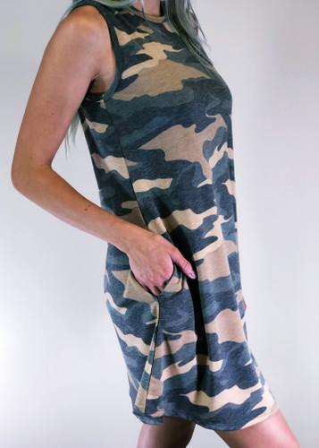 Dress- Camouflage