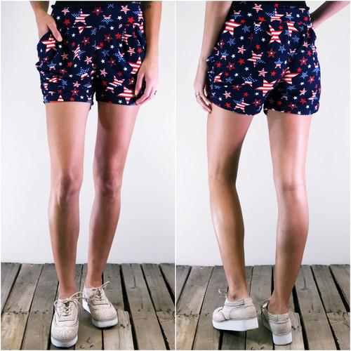 Shorts- Spangled Stars