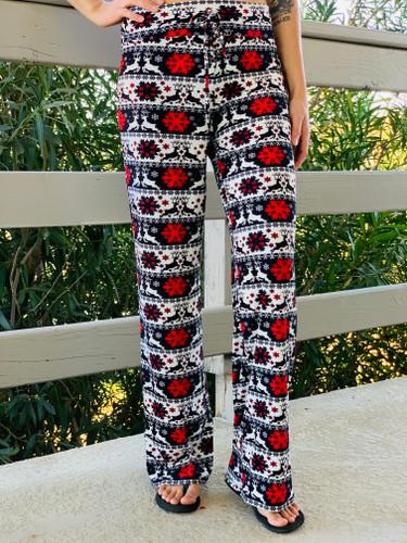 Pajama Pants/ Lounge Pants - Deerly Beloved