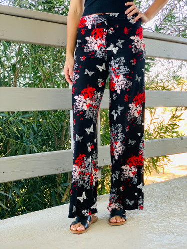 Pajama Pants/ Lounge Pants - Oriental Gardens
