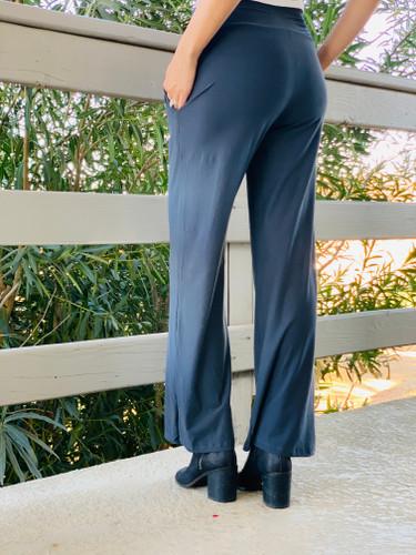 Pajama Pants/ Lounge Pants - Charcoal w/ Pockets