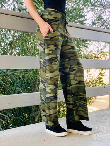 Pajama Pants/ Lounge Pants - OG Camo w/ Pockets