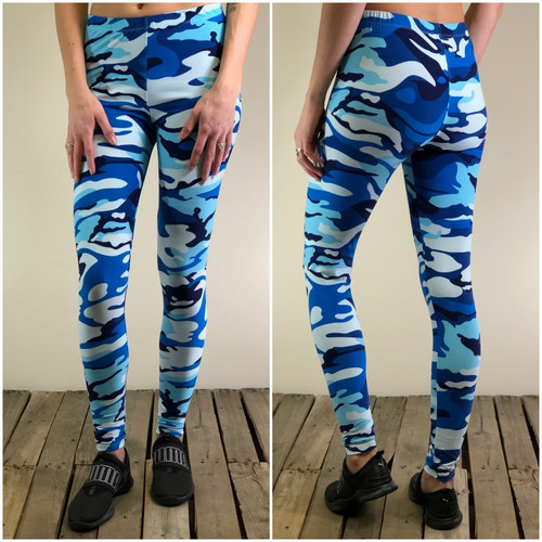One Size- Stealth Blue Camo