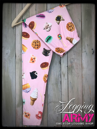Plus Size Sublimation- Sweet Tooth