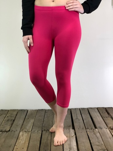Plus Size Capri- Solid Color