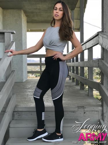 Activewear- Vivacious- White