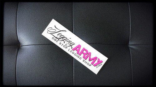 "7'' x 2"" Vinyl Legging Army Stickers"