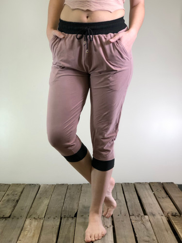 Jogger Capri- Solid Colors