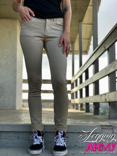 Push Up Pants- Tan