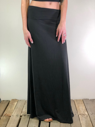 One Size Maxi- Solid Black