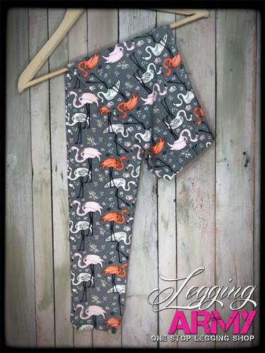 3XL/5XL (24-32)- Flamingo Mingle