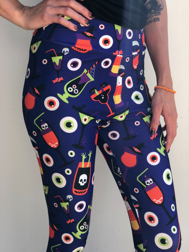 Plus Size Vibrant Collection- Mad Monster Mash