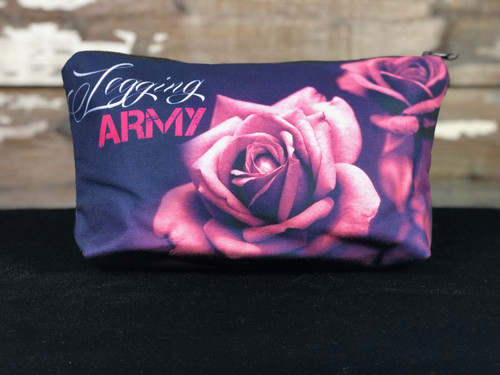 Legging Army Makeup Bag- Roses