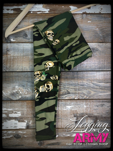 Kids- Original Camo With Skulls