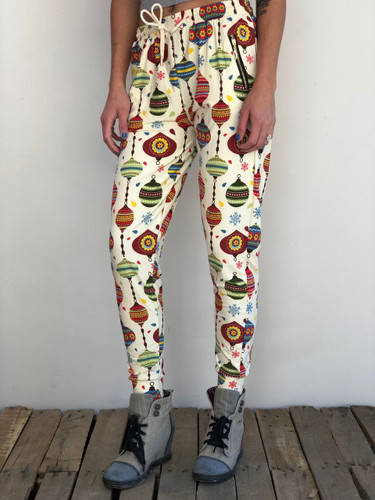 One Size Jogger- Vintage Christmas