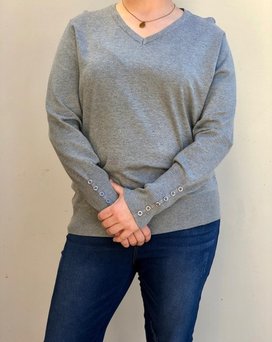 Plus Size Willow- Heather Grey