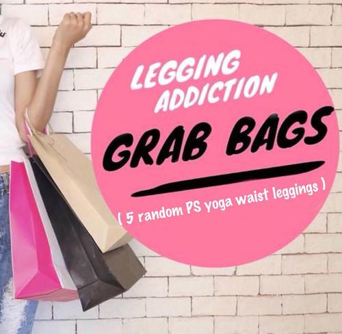 "5- Piece Plus Size 5"" Yoga Random Selection Grab Bags"