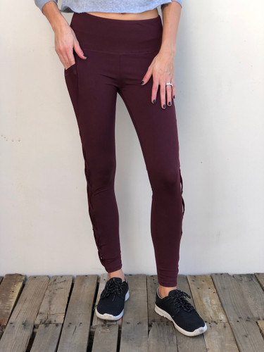 Activewear- Burgundy