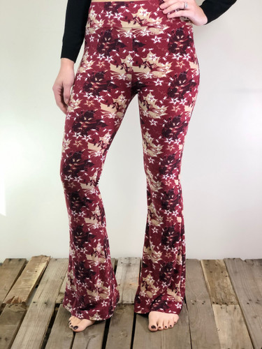 Palazzo Pants- Maple Sugar
