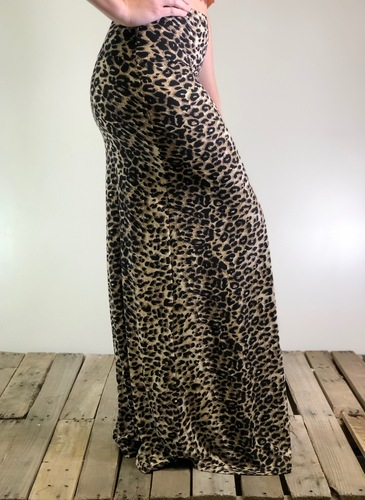 One Size Maxi- Cheetah