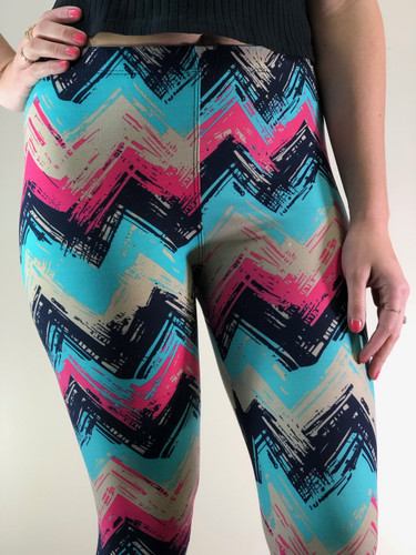 One Size- Chevron Showers
