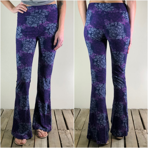 Palazzo Pants- Stamped In Lace