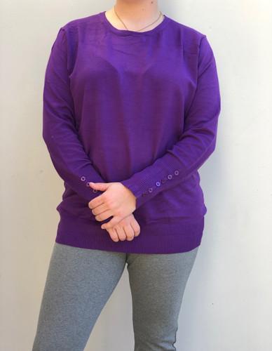 Plus Size Aspen- Purple