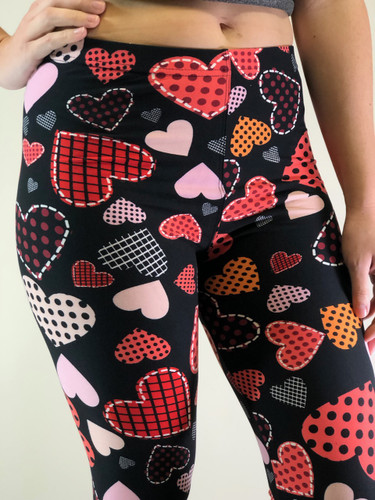 One Size Capri- Pattern of my Heart