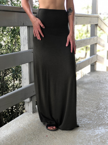 Plus Size Maxi- Black