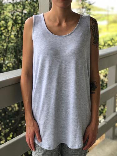 Tank Top- Heather Grey