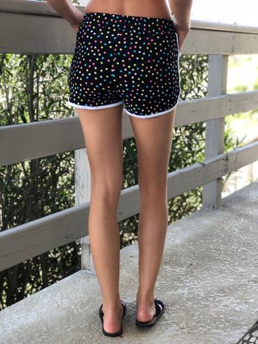 Shorts- Polka Delight