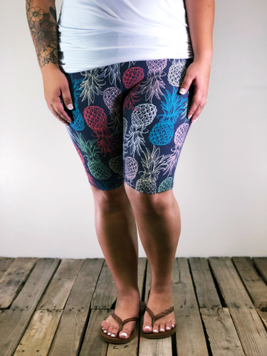 Plus Size Bike Shorts- Sweet Summer