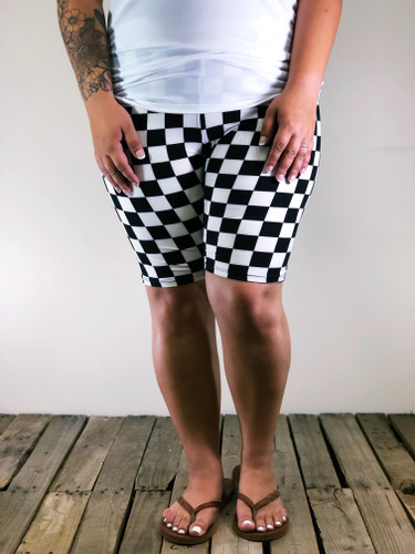 Plus Size Bike Shorts- Start Your Engines