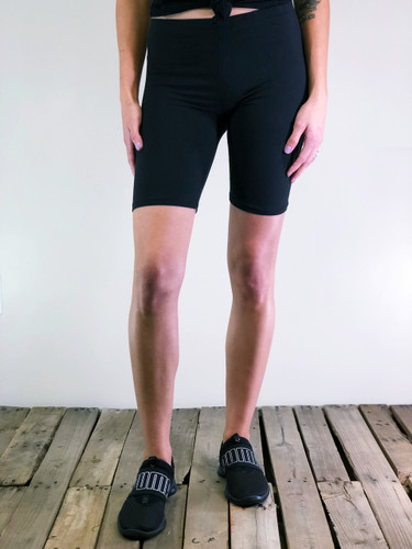 Solid Bike Shorts