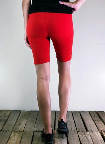 Solid Bike Shorts