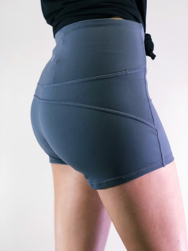 Athletic Shorts- Charcoal