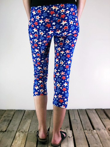 One Size Capri- Get The Party STAR-ted