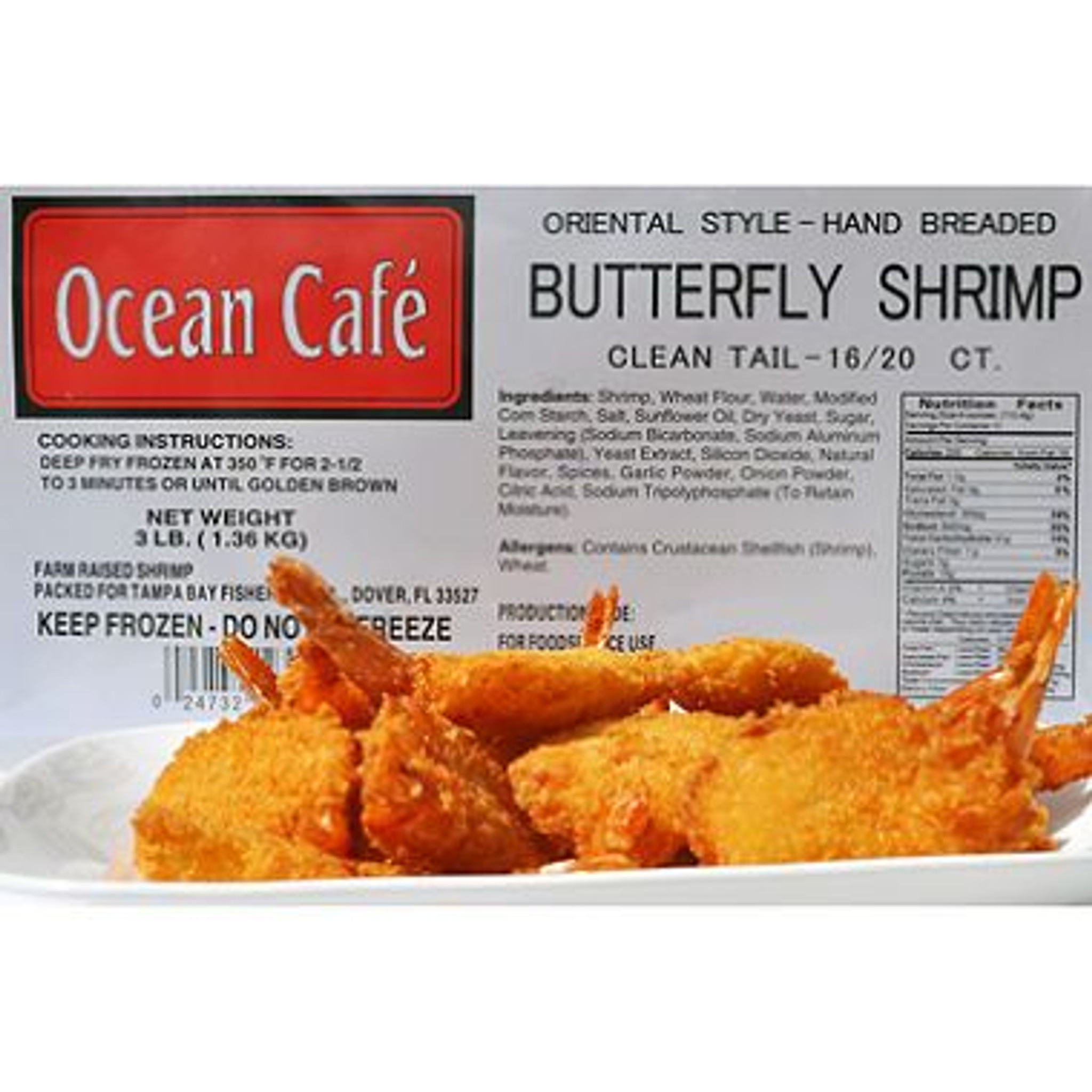 Hand Breaded Butterfly Shrimp 12 15 Count 3 Lb Wholey S Curbside