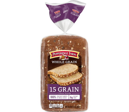 15 Grain Whole Grain Bread Pepperidge Farm