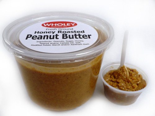 Wholey's Honey Roasted Peanut Butter 1 Lb. Avg.