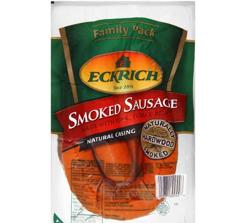 Eckrich Smoked Sausage Natural Casing 39 Oz.